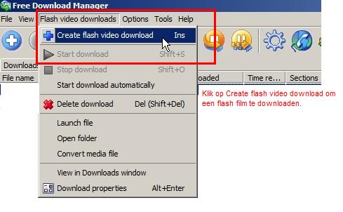 "Menu item ""create video download""."