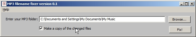You could rename the files instead of making copies.